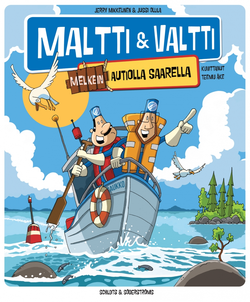 Maltti ja Valtti melkein autiolla saarella