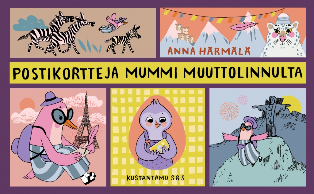 Postikortteja Mummi Muuttolinnulta