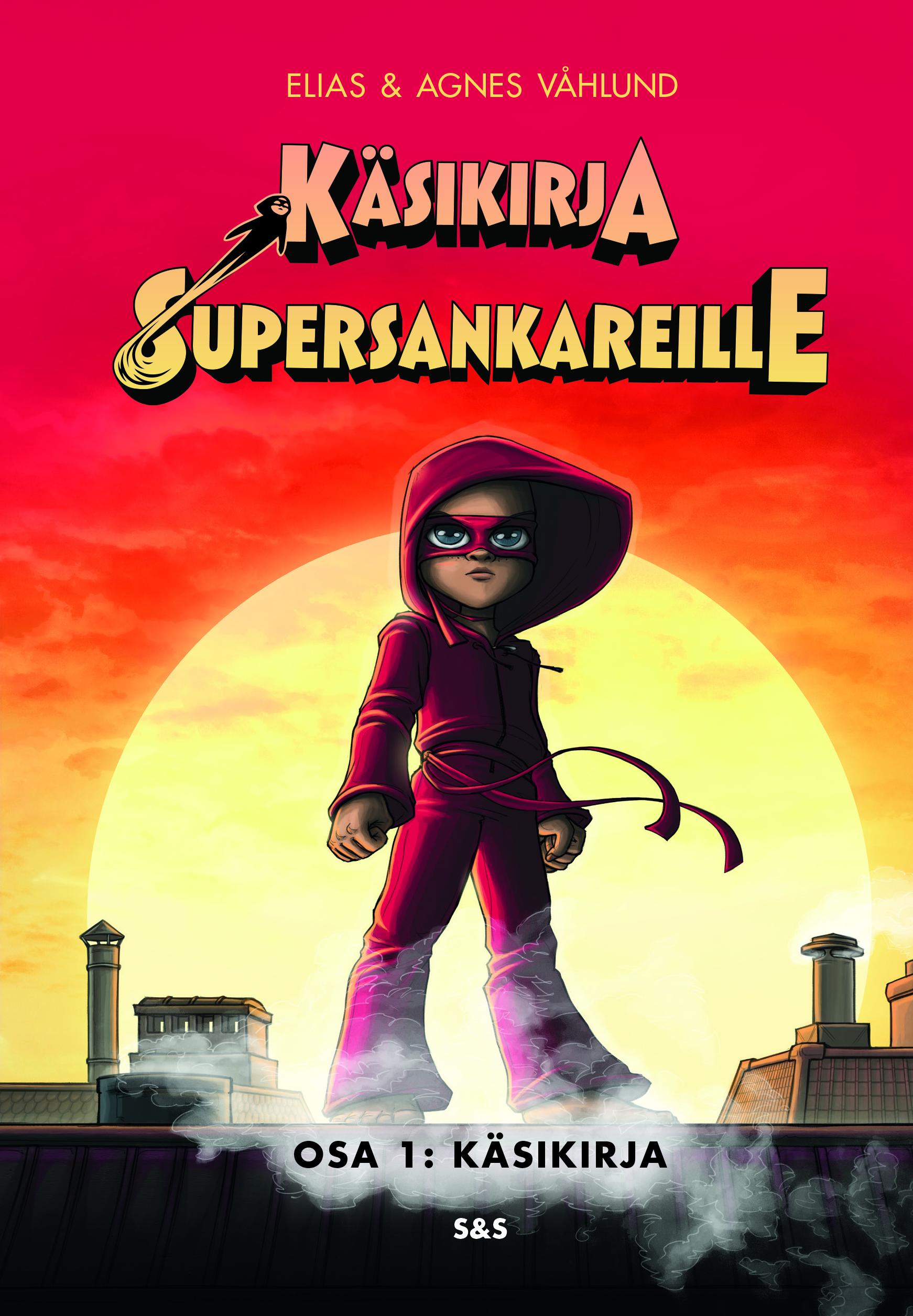 Käsikirja supersankareille - kansikuva
