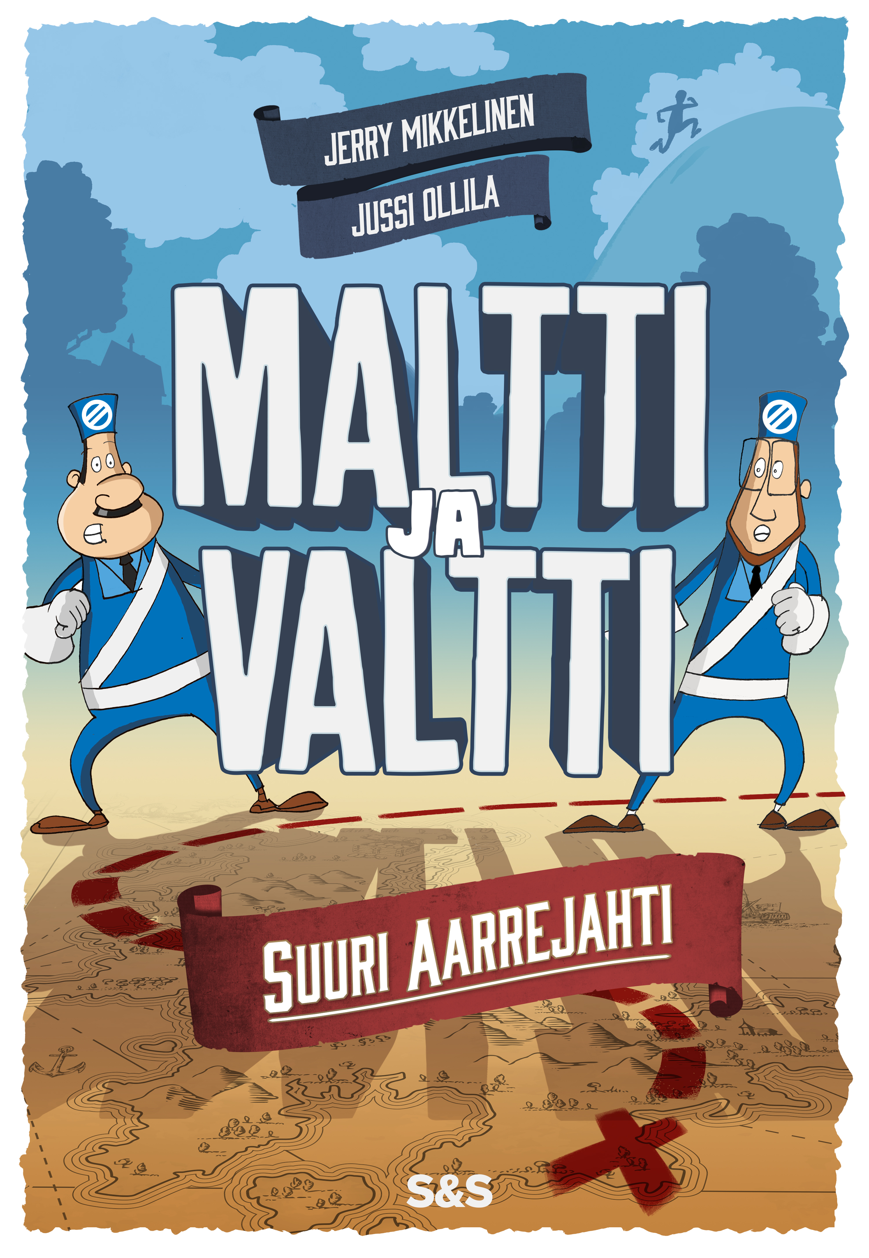 Maltti ja Valtti. Suuri aarrejahti